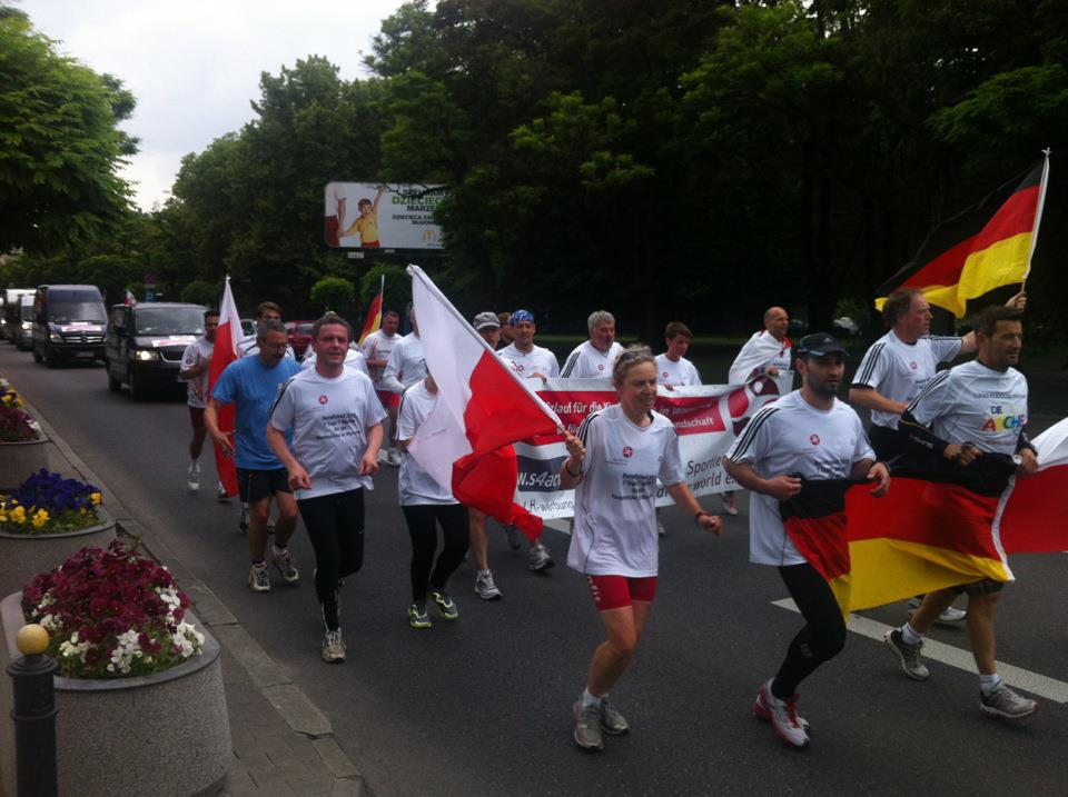 1300 km for the Arche and the German Polish friendship - EN
